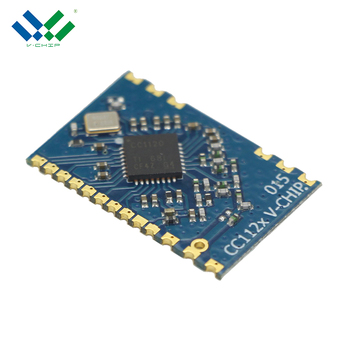Long transmit distance cc1120 1500M RF module 169mhz Industrial monitoring