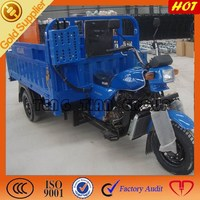 Chinese gearbox gasoline 3 wheel cargo tricycle three wheel car truck