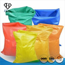 green cheap pp plain woven sack bag factory supplier for chicken feed animal feed