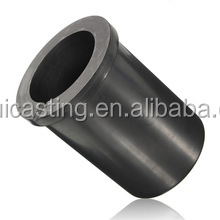 12KG Graphite Melting Crucible With Ceramic jacket Set for gold melting silver melting