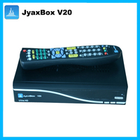 Newest jyaxbox ultra hd v20 with jb200 and wifi 1080p full hd hd satellite receiver dvb-s2 twin tuner sharing
