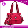 2016 Quality Ensured Rose Red Canvas Single Ladies big Shoulder Bag For Adults Daily Life Bag