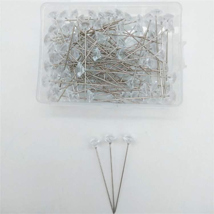 Factory Wholesale 8MM cloth pin fixed Wedding dress pin for clothing