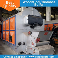 Coal wood boiler 1-15TPH Coal Fuel Fired Steam and Water Boiler Exported Europe High Quality Industrial Type