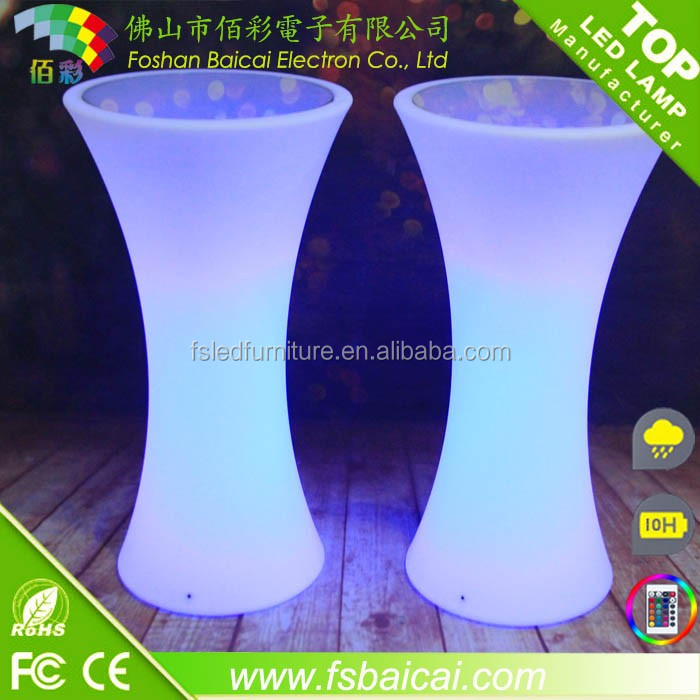 LED Lighting Furniture with 16 Color Change