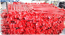 Good price factory supply powder coated screw earth anchor for fence Oceania Markets