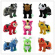 HI Hot sale Coin Operated Riders In Car Motorized Plush Riding Animal Scooter Electric Animal Ride On Toys for sale