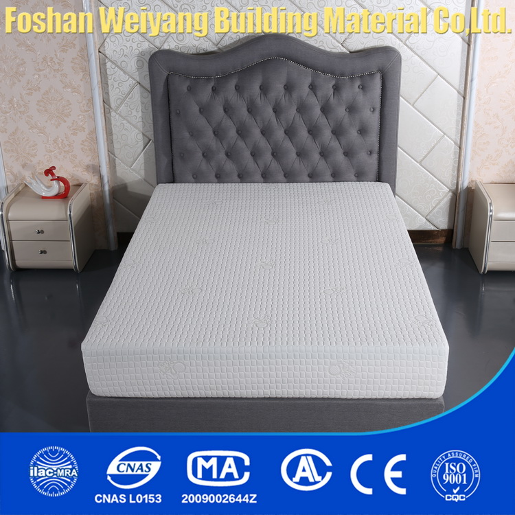 WSF536 korean anion natural latex foam mattress china