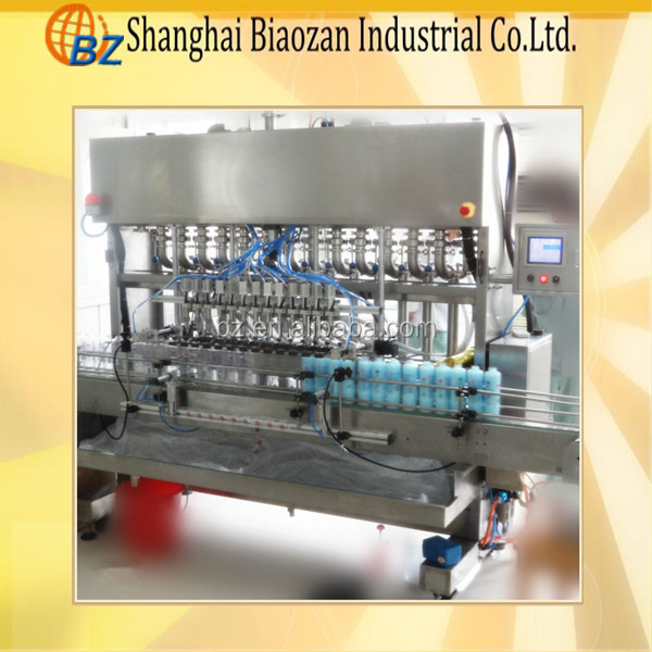 factory price automatic chocolate sauce /fruit jam/tomato paste bottle filling machine