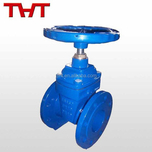 DIN F5 Resilient seat wedge non rising stem food grade gate valve for water
