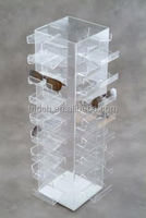 2015 new design clear glass shoe display case,new product eyewear display case