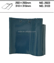 Hot sale high quality Spanish ceramic clay roof tile 310 x 310