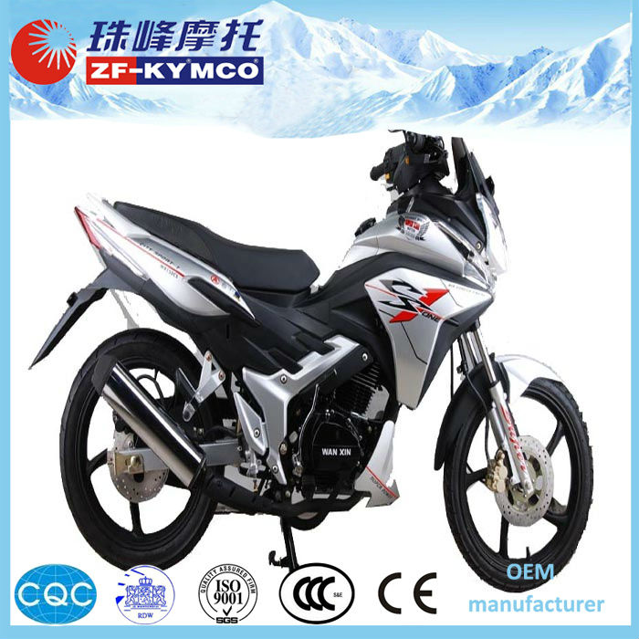 New wholesale cheapest 125cc gas automatic motorcycle ZF125-3