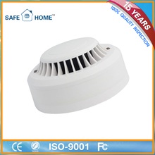 Dust Protection and Insect Nets 4 Wire Remote LED and Relay output Smoke and Heat Detector