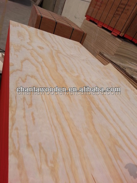 pine rotary face veneer 0.3mm linyi