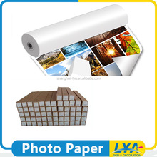 competitive price cheap cost a4 size rc silky inkjet photo paper