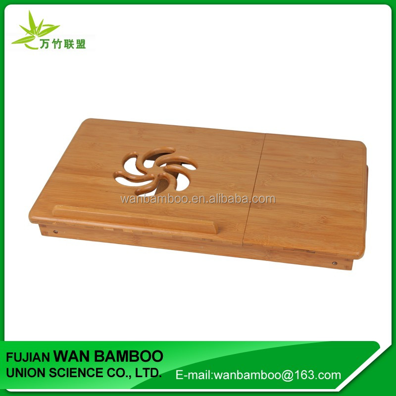 High Quality Mini Bamboo Folding Laptop Table