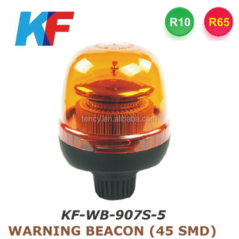 R65,R10 Hot selling car warning light,warning beacon,stroble light,KF-WB-907S-5
