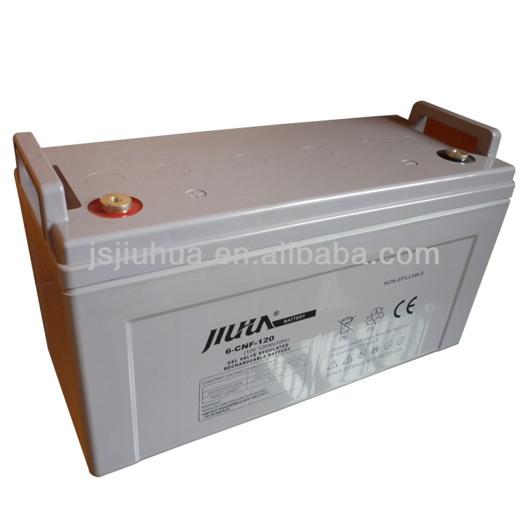 12v120ah Deep cycle battery/storage/maintenance free/sealed/VRLA/GEL/ lead acid battery