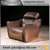 Home Furniture Single Seat Italy Leather