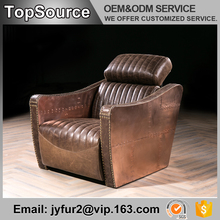 Home Furniture Single Seat Italy Leather Recliner Sofa