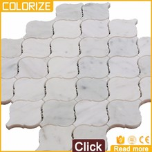 Professional Supplier Marble Lantern Mosaic Tile Backsplash