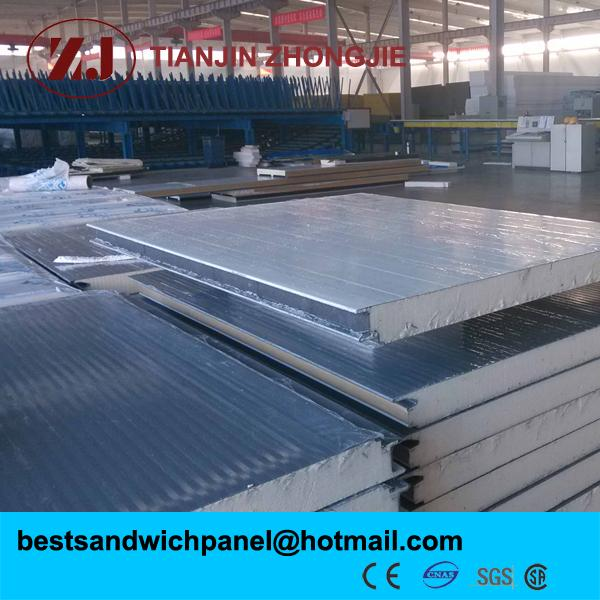 continuous pu panel production