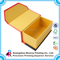 wholesale pine paper wine box