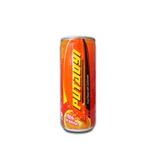 Private Label 250ml Can(tinned) Fruit Flavored Carbonated Drink in China
