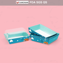 Factory price take out paper hot dog tray box