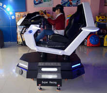 2016 the mewest Hot selling Super racing car simulator vr electronic game for America and Europe market