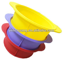 New design silicone steam pot with cover for hot selling