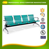 OEM Lounge Chrome Waiting Room Chair For Sale For Airport Station