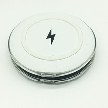 The innovative product 2018 wireless phone charger oem logo power bank for iPhoneX Samsung