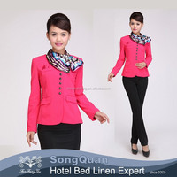 2014 manufacturer direct sell ladies latest office uniform design