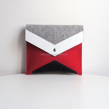 Fashional style women felt clutch bag