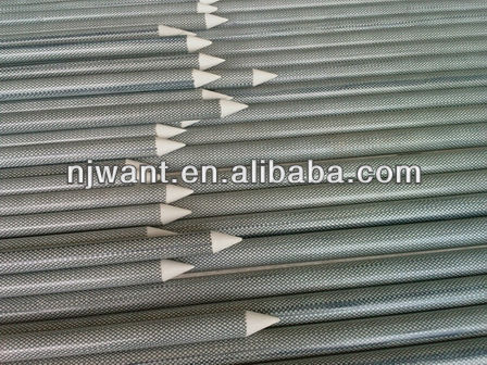Fiberglass decorative yard stakes
