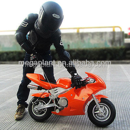 gas powered cheap pocket bike