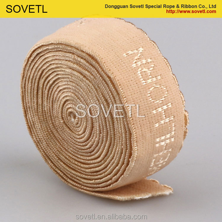 High quality jacquard elastic band for underwear elastic waistband