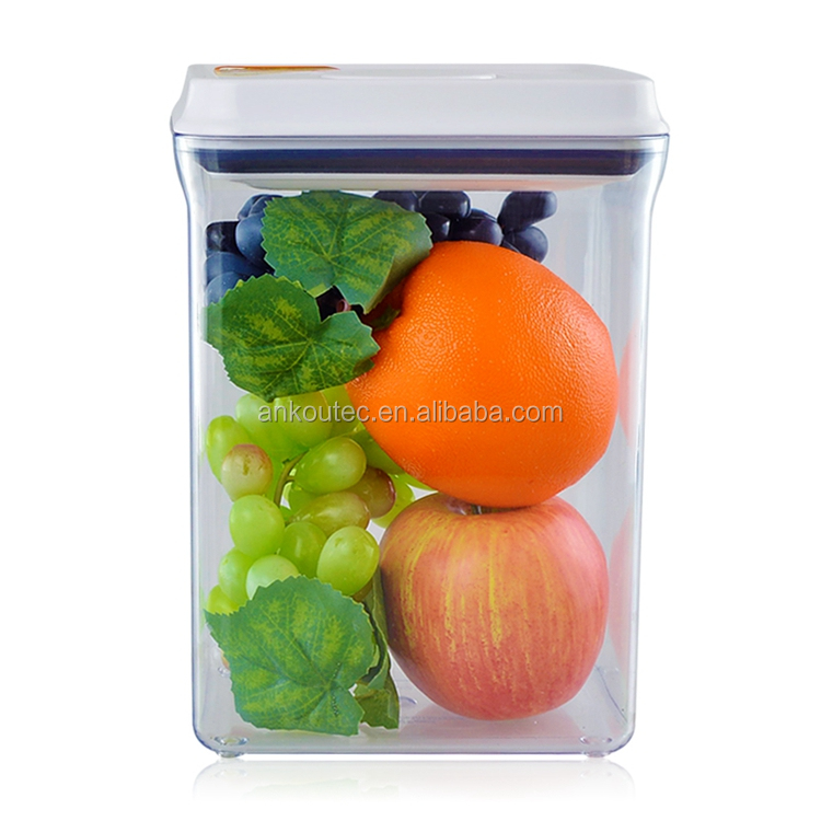 Best Price 2300ML Food Grade BPA Free Rectangle Plastic Containers/ food storage containers gamma seal