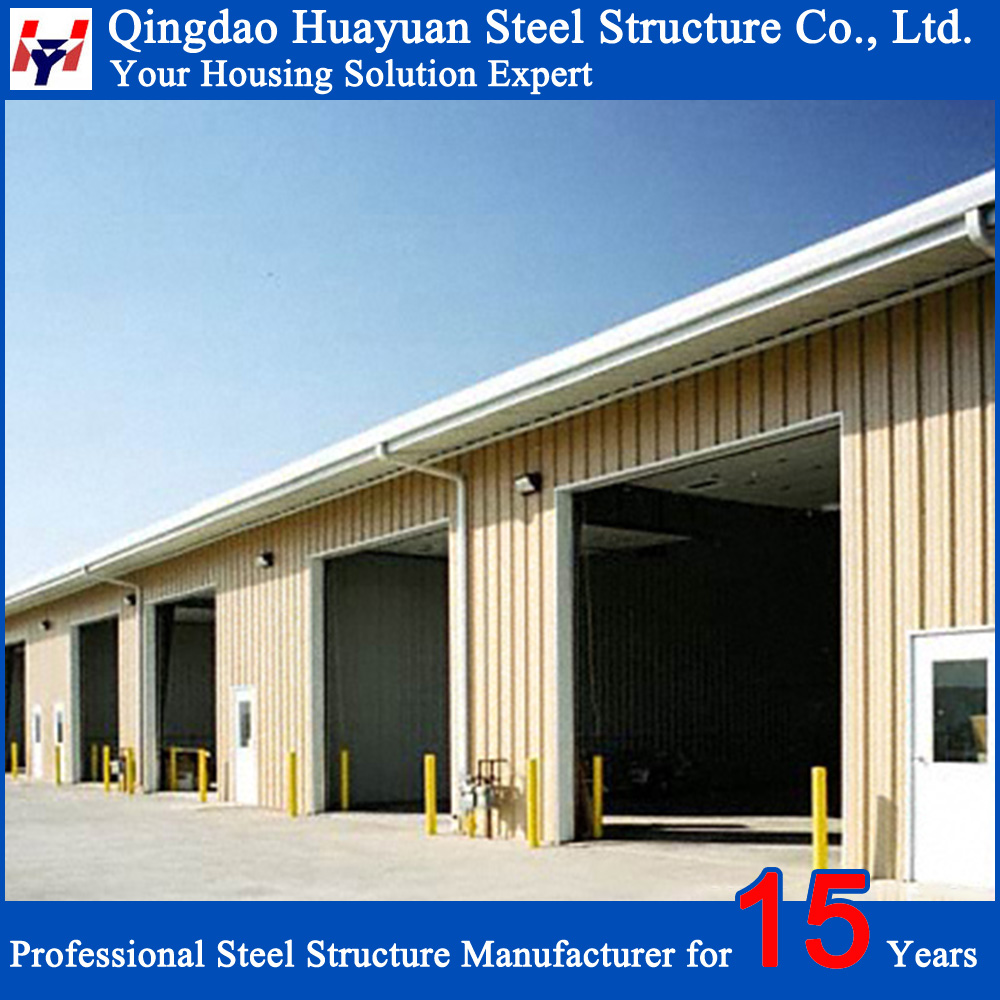 Metallic Steel Structures for Warehouse