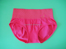 Seamless shape women panties nylon underwear in young rose color