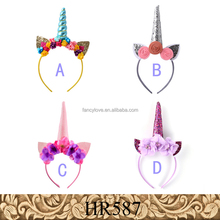 Yiwu Fancylove Jewelry DIY handmade rabbit ear Easter Bonus gift Baby unicorn headband