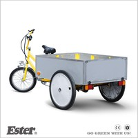 Three Wheel Pedal ESTER cabin Cargo Tricycle