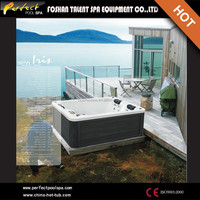 Best sell!!hot sale chinese sex tub outdoor spa led zoo animal video hot tub/sex you tub
