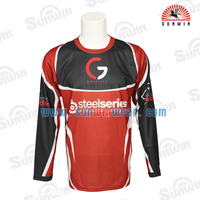 OEM man's dryfit Gaming Jersey, boy's cool-keeping game shirt with fancy color