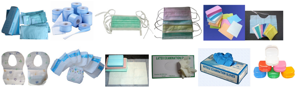 High protective sterilized disposable SMS surgical gown/disposable isolation gown, SMS Material CE&ISO