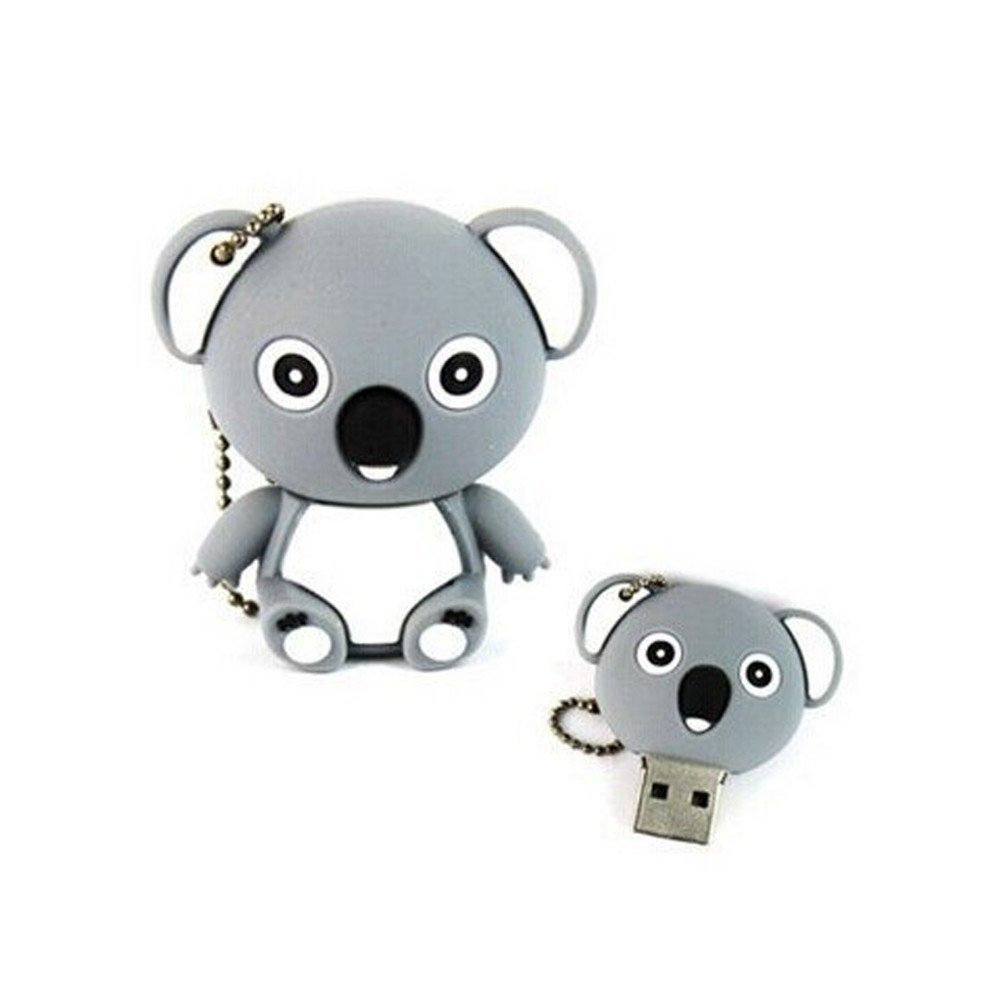 Tomax racoons design custom shape usb memory key for gifts