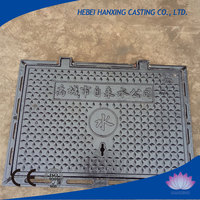 High quality professional OEM cast iron chamber cover,concrete rectangular sewer stainless steel manhole cover