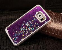 Dynamic Liquid Glitter Sand Quicksand Star Case For Samsung Galaxy Note 5 N9200 Crystal Clear Phone Back Cover